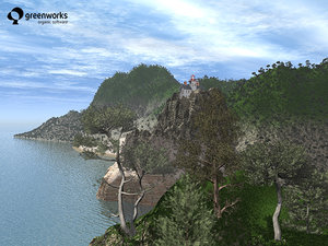 usa trees xfrogplants west 3d model