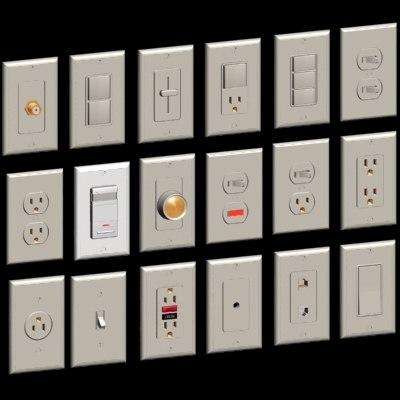 3dsmax set switches device light