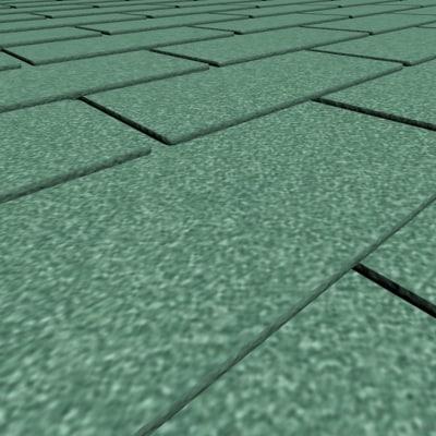 feet roof shingles 9 3d model