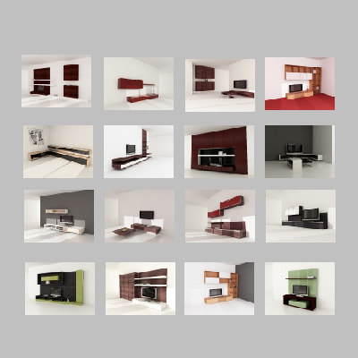 3d furnitures drawers tvcases