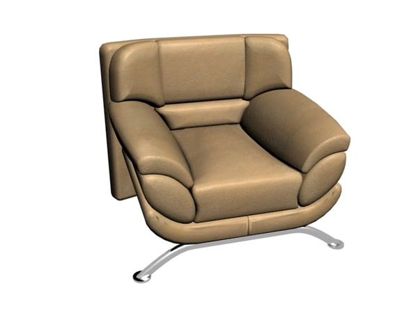 armchair chair 3ds