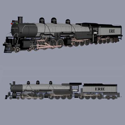train 48884 pztr48884 3d pz3