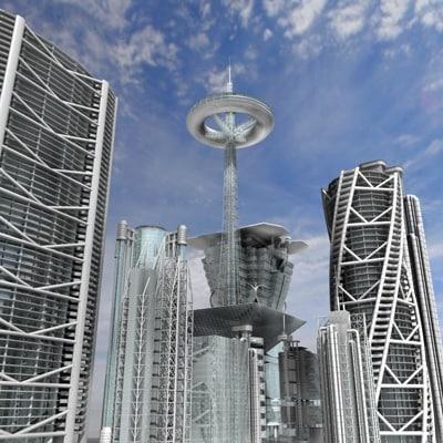 future building 3d 3ds