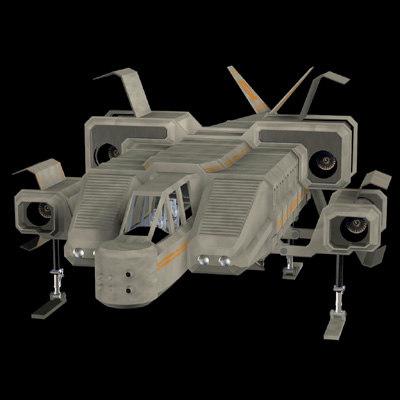 sc1 space shuttle 3d model