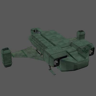 3d pz3 sc3 space shuttle craft