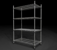 3d wire storage rack
