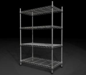 3d wire storage rack