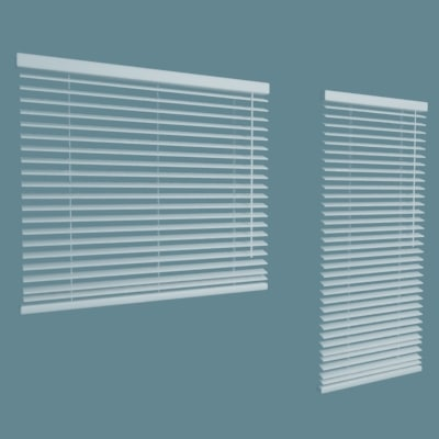 window blinds 3d max