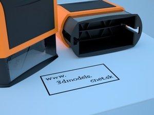 3d model handstamp