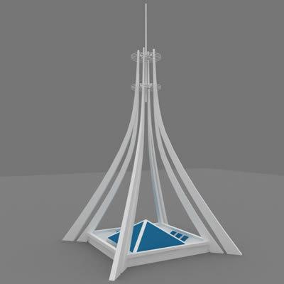 monument 3d model