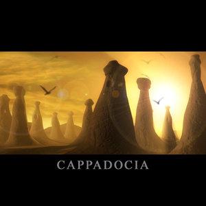 cappadocia terrain landscape 3d obj