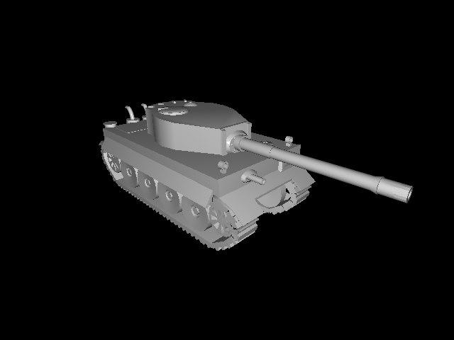 maya tiger tank