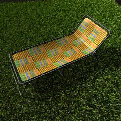 3d easychair chair