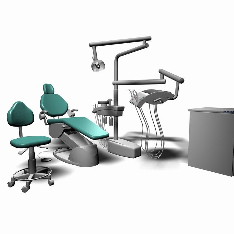 kavo amadeus 1071 dentist chair 3d model