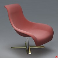Armchair swivel023.ZIP