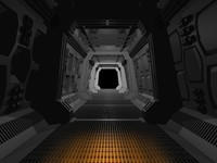 SpaceShip Corridor (Long)1