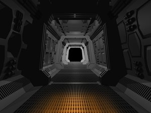 space spaceship 3d 3ds