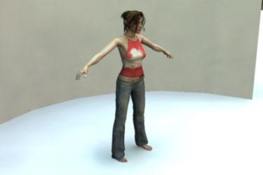 mia body realistic female 3d ma