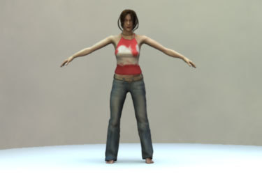 3ds max mia body realistic female