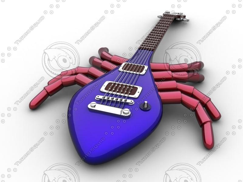 max guitar spider