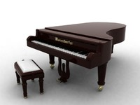 bosendorfer piano 3d model