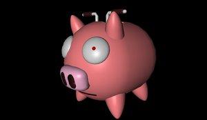 free 3ds mode pig invader zim
