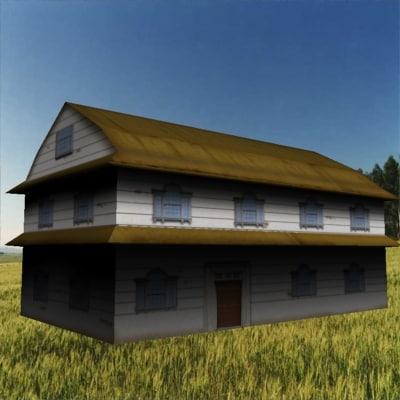 house barracks 3d model