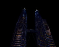 petronas skyscraper 3d max