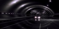 tunnel car 3d model