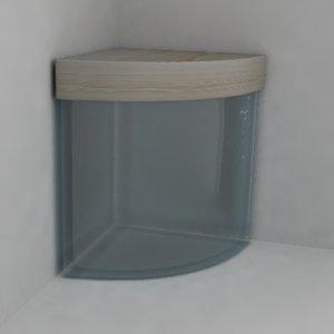 3ds container fishbowl aquarium