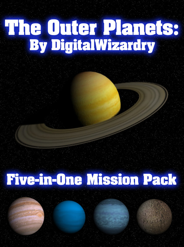 5-in-1 mission pack solar 3d model
