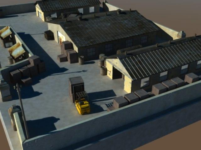 3ds wearhouse yard