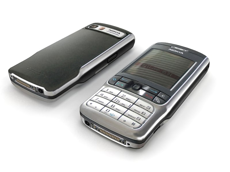 nokia 3230 modelled 3d model