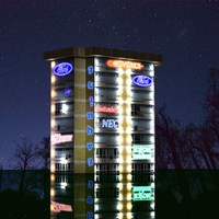 3d building baked realtime