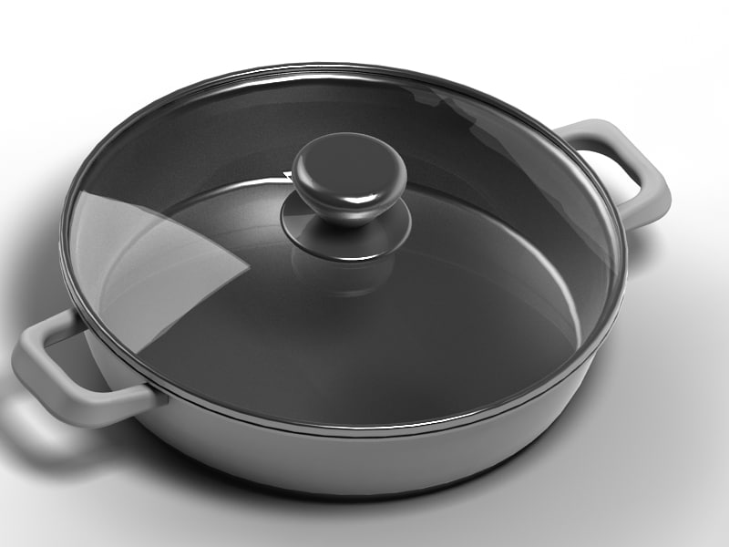 fryer cooker 3d max