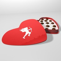 dxf valentine candy box