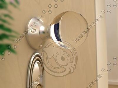 doorknob 3d model