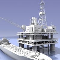 Oil rig and Tanker_02