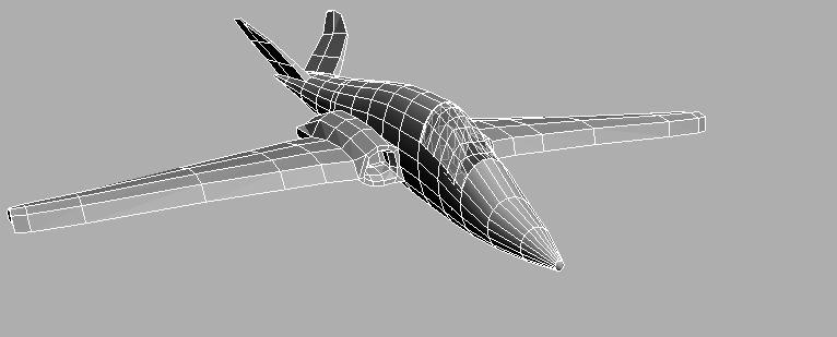 3ds max fighter jet airplane