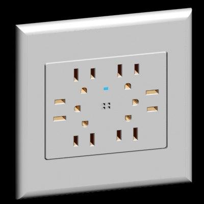 acenti style quad outlet 3d model