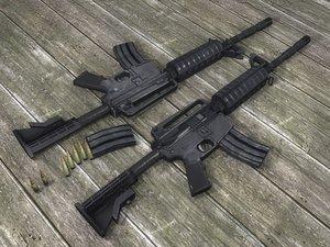 3d max m4a3 rifle