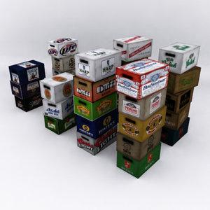 cases beer 3d max