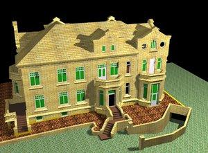 3dsmax house villa