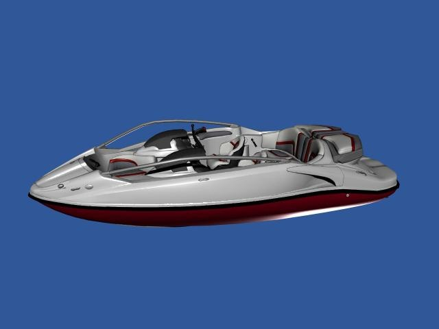 seadoo speedster 3d model