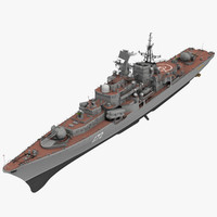 ruia sovremey cla destroyer 3d model