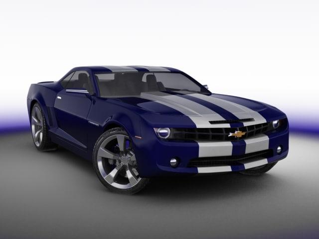 car chevrolet 3d model