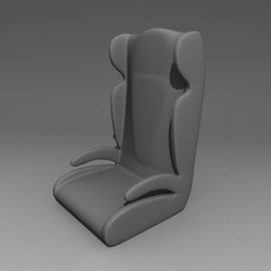 seat chair 3d 3ds