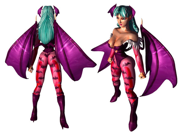 3d model characters woman female
