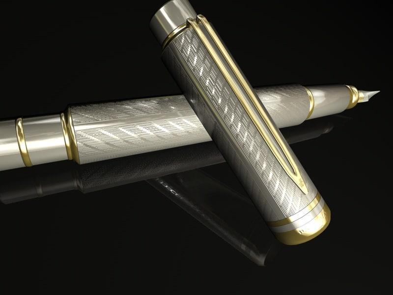 3d c ball pen