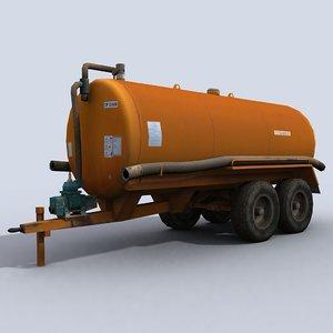 water tank tow max